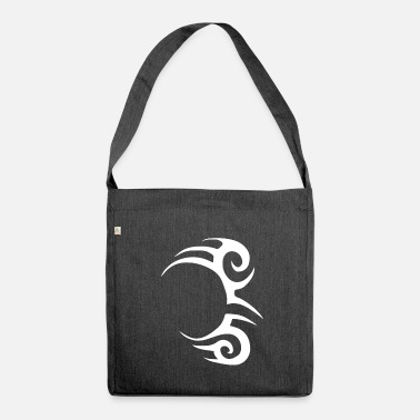 Tatouage Tribal Tatouage tribal, Silhouette, tatouage Tyson - Sac bandoulière 100 % recyclé
