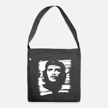 Che Guevara Painted - Shoulder Bag recycled