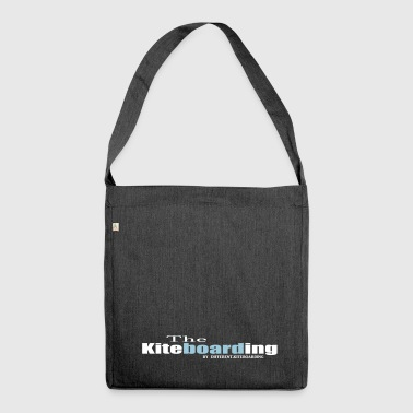 the kiteboarding - Shoulder Bag made from recycled material
