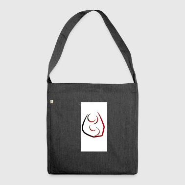 Tribal - Schultertasche aus Recycling-Material