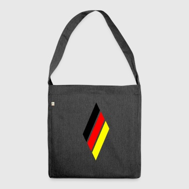 Germany rhombus - Shoulder Bag made from recycled material