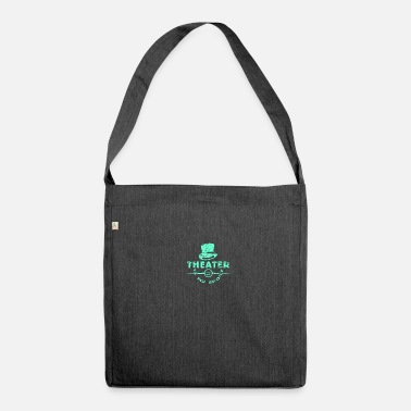 Theatre theatre - Shoulder Bag made from recycled material