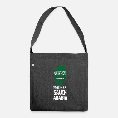 Arabia Made In Arabia Saudita / Arabia Saudita - Borsa in materiale riciclato