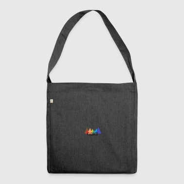 Elevator Elevated to the Mountains - Shoulder Bag made from recycled material