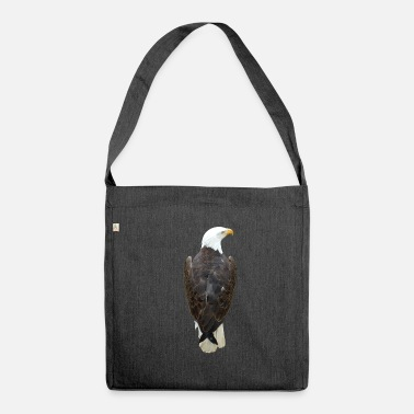 Bird Of Prey Eagle, bird of prey, bird of prey - Shoulder Bag made from recycled material