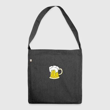 beer Maß maßkrug - Schultertasche aus Recycling-Material