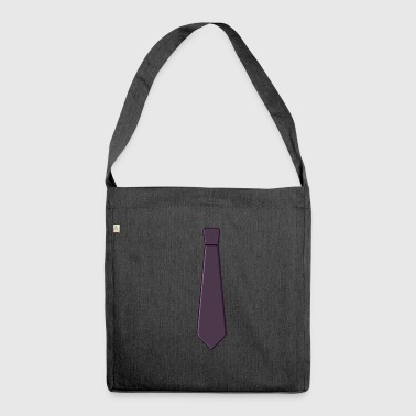 Necktie Gift idea for the day - Shoulder Bag made from recycled material