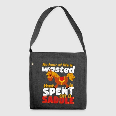 Spend on a Saddle - Shoulder Bag made from recycled material