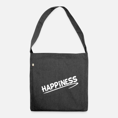 Happiness Happiness - Umhängetasche aus Recyclingmaterial
