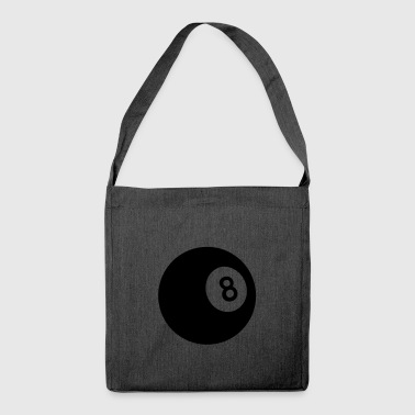 8 ball - Borsa in materiale riciclato