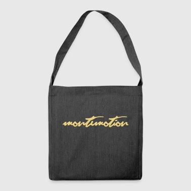monte motion - Shoulder Bag made from recycled material