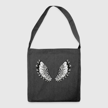 Wings - Schultertasche aus Recycling-Material