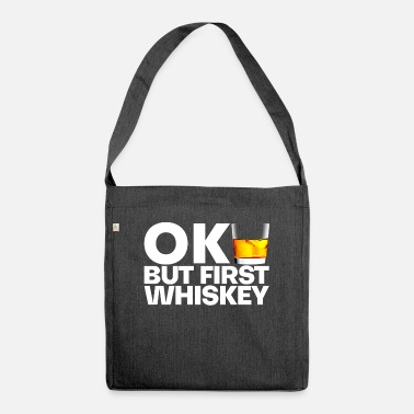Whiskey Whiskey whiskey - Shoulder Bag recycled