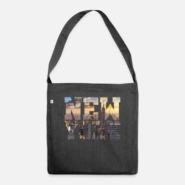 New York New York New York - Shoulder Bag recycled