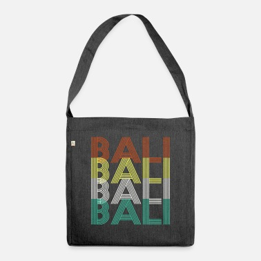 Bali Bali Bali Bali Bali - Shoulder Bag recycled