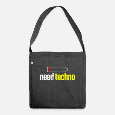 Techno Party Techno party weekend - Shoulder Bag recycled