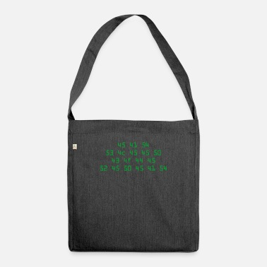 Computer Science computer science - Shoulder Bag recycled