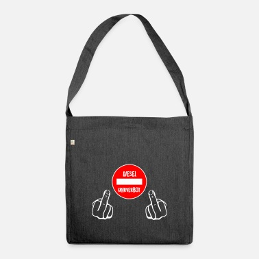 Driving Ban Diesel driving ban - Shoulder Bag recycled