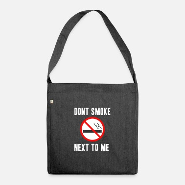 Non-smoking Non smoking - Shoulder Bag recycled