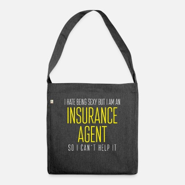 Insurance insurance - Shoulder Bag recycled