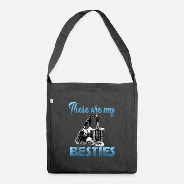 Barber Shop Barber Shop Barber Shop - Shoulder Bag recycled