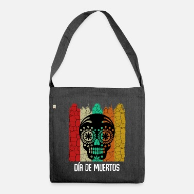Day Of The Dead Day Of The Dead - Skuldertaske af recycling-material