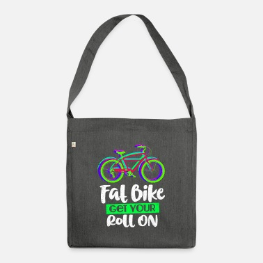 Fat bicycle - Shoulder Bag recycled