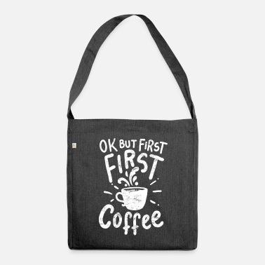 Coffee Coffee coffee coffee - Shoulder Bag recycled