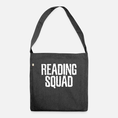 Reading Read Read Read - Shoulder Bag recycled