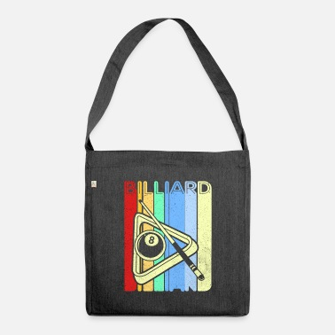 Russian Billiards billiards - Shoulder Bag recycled