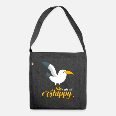Seagull seagulls - Shoulder Bag recycled