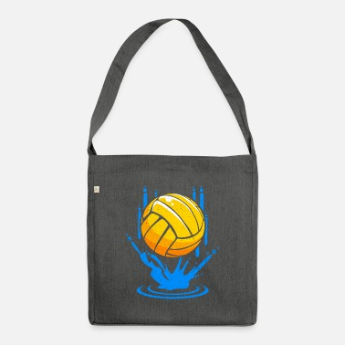 Water water polo - Shoulder Bag recycled