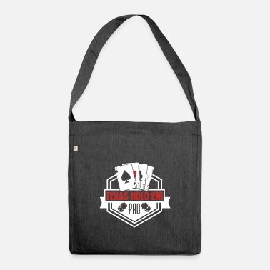 Hold'em Texas Hold'em - Shoulder Bag recycled