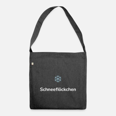 Snowflake Snowflake (Snowflake) - Shoulder Bag recycled
