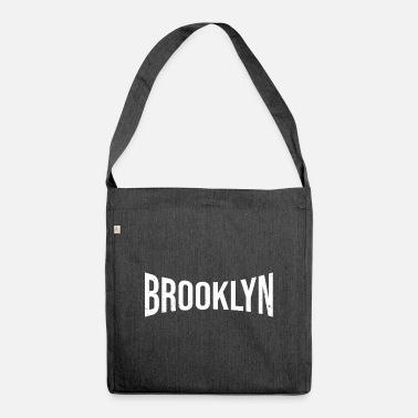 Ny Brooklyn Compressed Vintage - Umhängetasche aus Recyclingmaterial