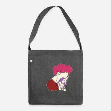 Depressed depression - Shoulder Bag recycled