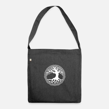 Celtic Celtic symbol - Celtic tree of life - Shoulder Bag recycled