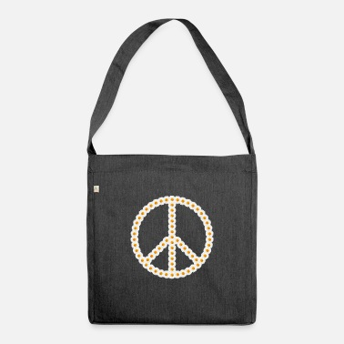 Marguerite Flowers Peace Peace Sign Marguerite Marguerite - Shoulder Bag recycled