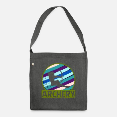 Arrow Grab This EyeCatching Shirt Archery Perfectly - Shoulder Bag recycled
