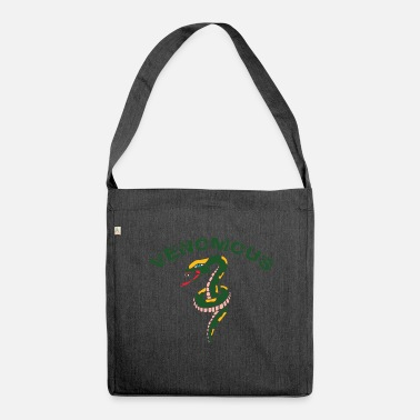 Crawl Snake Snake - Shoulder Bag recycled