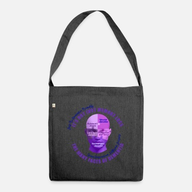 The Many Faces of Dementia - Shoulder Bag recycled
