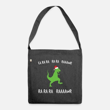 Ra Unique Dinosaur Shirt Fa Ra Ra Ra Ra Raawr Ra Ra - Shoulder Bag recycled
