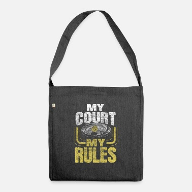 Net Tennis ball sports tennis instructor - Shoulder Bag recycled