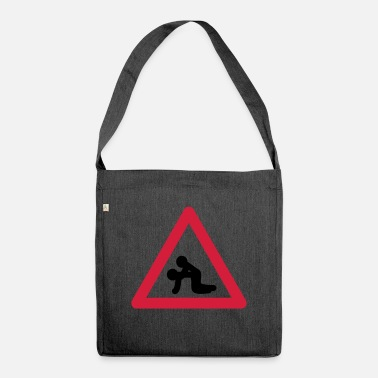 Traffic Sign Traffic signs Popper - Shoulder Bag recycled