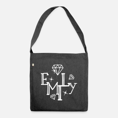 Name Name Emily First name Name day - Shoulder Bag recycled
