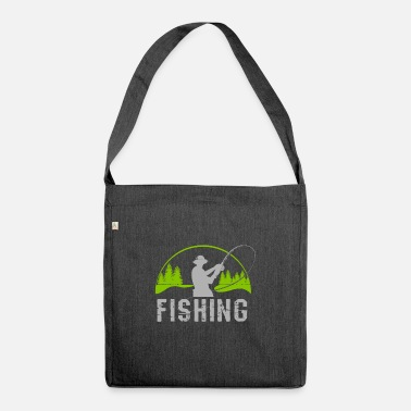 Sport Fishermen Anglers and fishermen - Shoulder Bag recycled