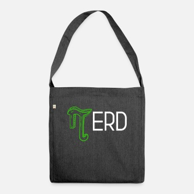 Flores Nerds Root Pi Math Team Geek Design - Bolsa de tela reciclado