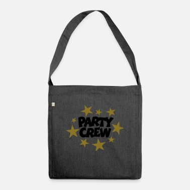 Beachparty Party Crew Stars (ES) - Bolsa de tela reciclado