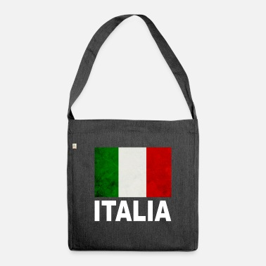 Italian Italian flag - Shoulder Bag recycled