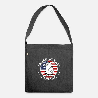Indiana State Indiana State USA Flag Indiana America - Shoulder Bag recycled